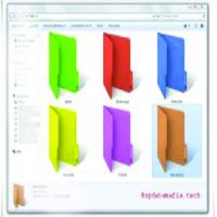 folder colour